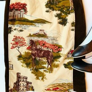 Anthropologie Skirts - Anthropologie Cartonnier Horse Skirt